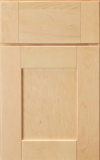 Frameless Lawton Maple Natural Cabinet Door