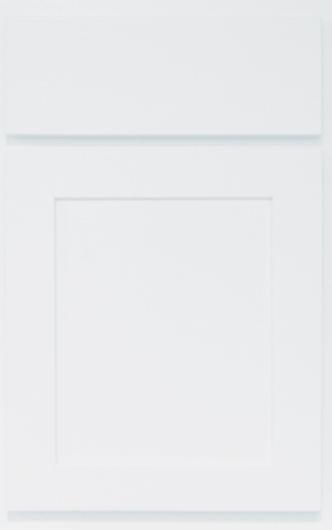 Shaker Bright White Cabinet