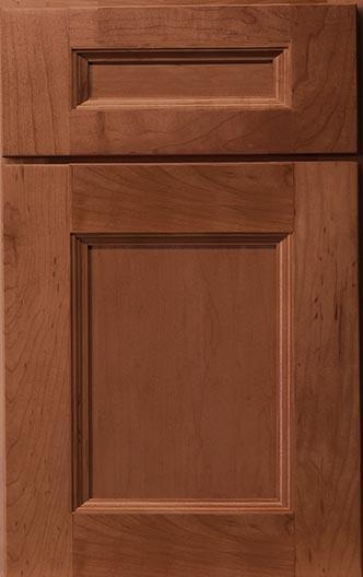 Hudson Maple Cinnamon Frameless Cabinet