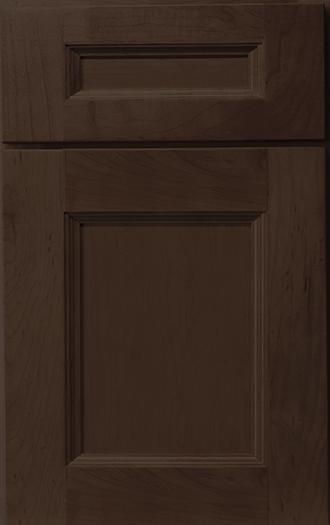 Hudson Maple Toffee Frameless Cabinet