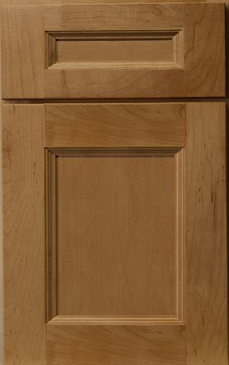 Hudson Maple Wheat Frameless Cabinet
