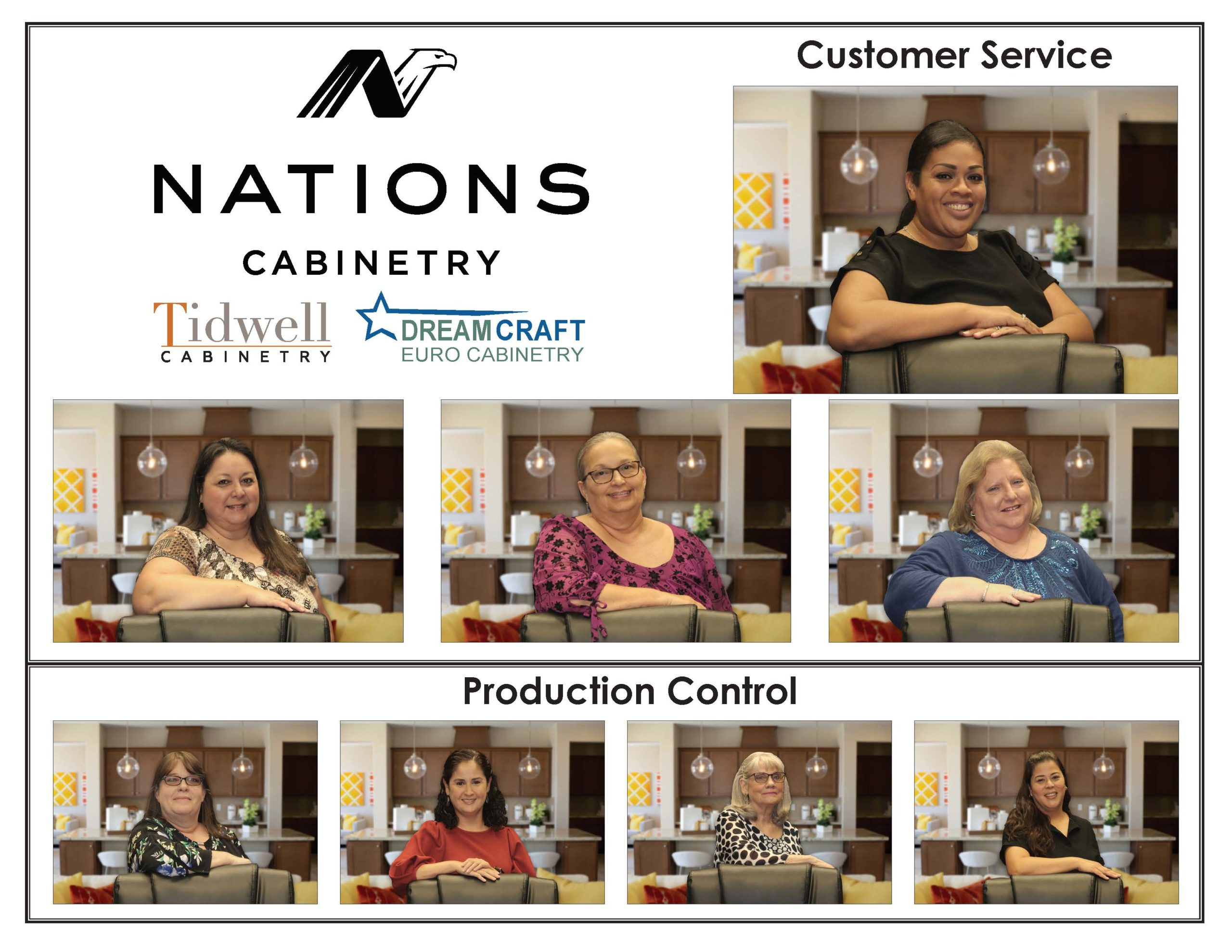 Meet our customer service team